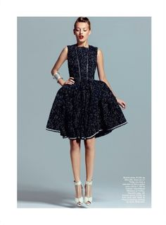 Bregje Heinen Shapes Up for Marie Claire Australia October 2012 by Kevin Sinclair by mrs. sparkle