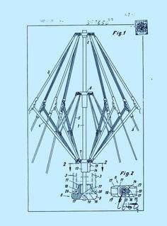 Un paraguas (índice 2) (1 de enero de 1970) - bremshey & co. Kinetic Architecture, Folding Architecture, Architecture Design, Folding Structure, Urban Rooms, Portable Shelter, Tensile Structures, Technical Drawing, Sketch Design