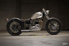 bobber motorcycles   Triumph Tiger 650 Bobber - Pipeburn - Purveyors of Classic Motorcycles ...