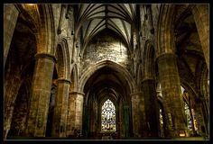 St Giles. Edinburgh.  By: Eugenio Pastor Benjumeda