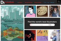 DirectoryofIllustration.com Website Re-Launch :: Find The World's Best Illustrators