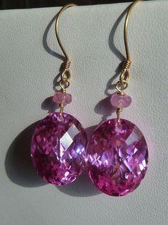 pink sapphire & quartz
