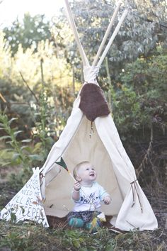 First birthday. Teepee. Tribal theme. Young Northwest Photography.