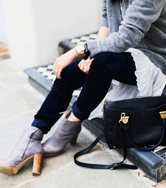 Simple ideas you can try with pieces you already own via @WhoWhatWear