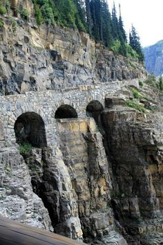 Going to the Sun Road Glacier National Park Montana..... #Relax more with healing sounds: