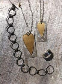 Sølvarbeid, grunnleggande teknikkar. Dog Tags, Dog Tag Necklace, Pendant Necklace, Jewelry, Velvet, Jewels, Schmuck, Jewerly, Jewelery