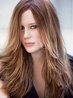 Long choppy haircuts with layers. This but straight and not flippy