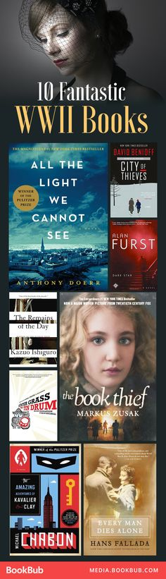 WWII historical fiction books worth a read!