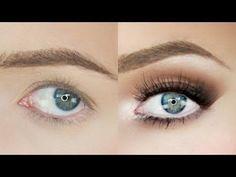 Droopy Eyes Makeup Tutorial! | Stephanie Lange - YouTube