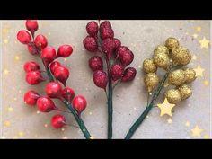 Christmas Tree Dyi, Christmas Bows, Christmas Crafts, Crepe Paper Flowers, Fabric Flowers, Handmade Flowers, Diy Flowers, Upcycled Crafts, Diy And Crafts