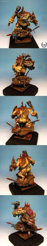 camelsonart: Golden Demon Germany Cologne 2012 entries. - Warhammer monster.