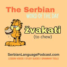 Croatian Language, Serbo Croatian, Study Guides, Word Of The Day, Grammar, Spelling, Motivation, Education, Learning