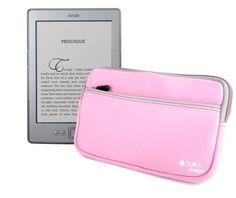 DURAGADGET Pink Water Resistant Neoprene Soft Zip Case/Cover For New 2011 Amazon Kindle 4, Kindle Touch, Kindle Touch 3G, Kindle Fire And Kindle 3 by DURAGADGET. Save 63 Off!. $10.49. DURAGADGET'S new neoprene zip case makes transporting your new Amazon Kindle safe and secure. Knocks and scratches are no longer a worry with this soft and supple slip case.