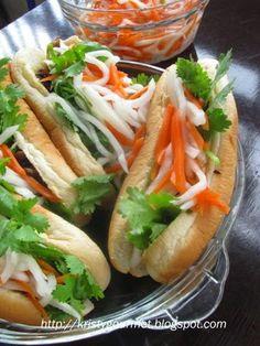 My Little Space: Mini Banh Mi Vietnamese Sandwich