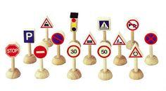 PlanToys Verkehrszeichen