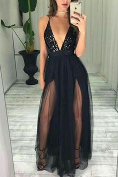 Sexy Black Prom Dresses Long,Dresses For Graduation Party,Evening Dress,Formal Dress sold by bridesdayprom. Shop more products from bridesdayprom on Storenvy, the home of independent small businesses all over the world. Black Prom Dresses, A Line Prom Dresses, Elegant Dresses, Sexy Dresses, Long Dresses, Dress Long, Summer Dresses, Wedding Dresses, Party Dresses