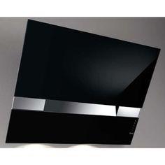 vendita Best Cappa Parete Cm. 80 - Acciaio Inox E Vetro Nero PLATINUM - KITE - 07F20000