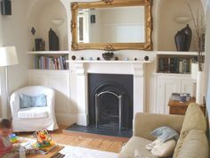 Victorian Terrace Living Room