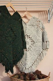 Um blogue sobre artesanato, croché, lavores, e outras artes Diy Crochet And Knitting, Crochet Poncho Patterns, Crochet Cross, Crochet For Boys, Crochet Scarves, Loom Knitting, Crochet Shawl, Crochet Clothes, Crochet Lace