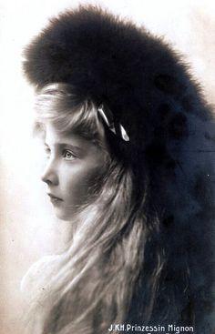 Prinzessin Marie von Rumänien, future Queen of Yugoslavia