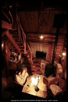 I want a secret room like this one day