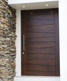Artistic Wooden Door Design Ideas To Try Right Now 28 Modern Entrance Door, Modern Wooden Doors, Modern Door, Entry Doors, Wooden Front Door Design, Wooden Front Doors, Door Design Interior, Room Door Design, Exterior Design