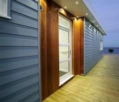 Marley Cedral Grey Weatherboard   3.6m x 190mm x 10mm   Roofinglines