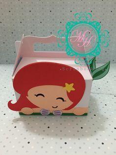 Little Mermaid Birthday, Little Mermaid Parties, Ariel Mermaid, Ariel The Little Mermaid, Mermaid Birthday Decorations, Disney Princess Ariel, Mickey Party, Ideas Para Fiestas, Party In A Box