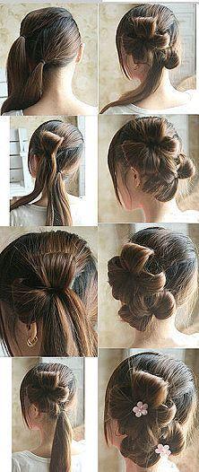 For long hair. ...