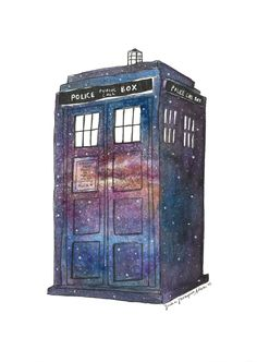 Tardis drawing