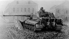 Tank Panzer VI Ausf. B Tiger II or Königstiger was the last German tank produced…