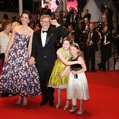 Steven Spielberg, Rebecca Hall and Ruby Barnhill on the red carpet for 'The BFG' at Cannes