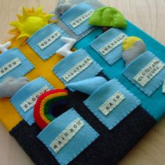 Quiet book Toddler quiet book Quiet book pages Felt book Quiet book toddler Busy book Busy book for toddler Baby quiet book Diy Quiet Books, Felt Quiet Books, Baby Crafts, Felt Crafts, Quiet Book Patterns, Busy Book, Book Projects, Diy For Kids, Activities For Kids