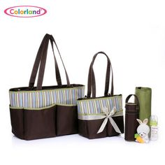 5 Piece Mom Bag Set by Colorland