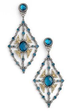 online shopping for Konstantino 'Thalassa' Blue Topaz Kite Chandelier Earrings from top store. See new offer for Konstantino 'Thalassa' Blue Topaz Kite Chandelier Earrings Blue Topaz Stone, Blue Topaz Ring, Chandelier Earrings, Women's Earrings, Earrings Online, Topaz Earrings, Fine Jewelry, Women Jewelry, Jewelry Art