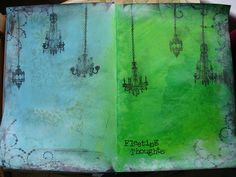 Art Journal  Some great pages Tania Ahmed
