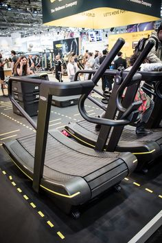 Technogym Skimill Connect Laufband auf der FIBO 2016