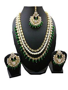 VVS Jewellers Exclusive Indian Bollywood Style Green Pear... https://www.amazon.com/dp/B073RGCKF4/ref=cm_sw_r_pi_dp_x_.pUCzbA8W9NEF