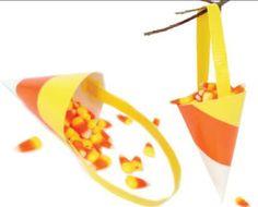 Duck Tape® Candy Corn #ducktape #craft