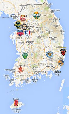 2021 K League Map Soccer Fifa, Soccer Art, Soccer Logo, Korea Map, Hs Football, Messi Argentina, European Soccer, All Team, Gwangju
