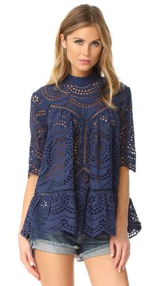 Paradiso Embroidered Blouse