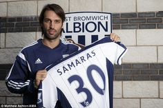 Georgios Samaras completes move to West Brom on free transfer #dailymail