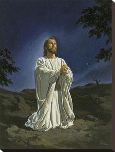 """Christ in Gethsemane"" - painting by Marvin Nye"