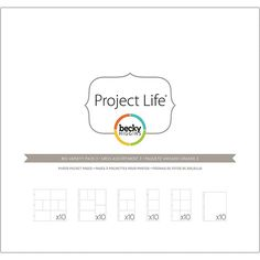 American Crafts Project Life Collection Page Protectors - Big Variety Pack 3
