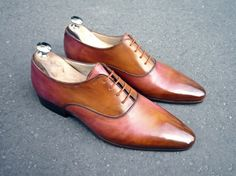 Caulaincourt shoes - Marechal - bois de rose