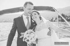 Wedding on Lake Maggiore - Isole Borromeo - Bride and Groom | #michelarezzonico #weddingphotographer #guastinistyle #weddingplanner