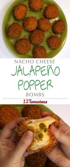 Nacho Cheese Jalapeño Popper Bombs | Here, we take the elements of a jalapeño popper, but throw in a few surprises: biscuit dough and Doritos. By using flattened out biscuits, we're able to make a delectable pocket for our cheese bombs, which we then coat in crushed nacho cheese Doritos…pure perfection.