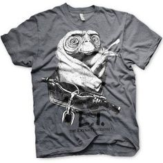 Hybris E. - Biking distressed unisex T-shirt donker grijs - Film merchandise Mode Geek, One Piece, God Of War, Mens Tops, T Shirt, Biking, Naruto, Barcelona, Fashion