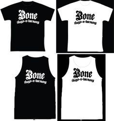 """Bone Thugs-n-Harmony R$ 35,00 + frete Todas as cores Personalizamos e estampamos a sua ideia: imagem, frase ou logo preferido. Arte final. Telas sob encomenda. Estampas de/em camisas masculinas e femininas (e outros materiais). Fornecemos as camisas ou estampamos a sua própria. Envie a sua ideia ou escolha uma das """"nossas"""".... Blog: http://knupsilk.blogspot.com.br/ Pagina facebook: https://www.facebook.com/pages/KnupSilk-EstampariaSerigrafia/827832813899935?pnref=lhc…"""