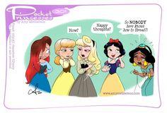 Pocket Princesses, Pocket Princess Comics, Disney Princesses, New Pocket Princess, Disney Pixar, Disney Fan Art, Disney And Dreamworks, Disney Magic, Funny Disney Memes